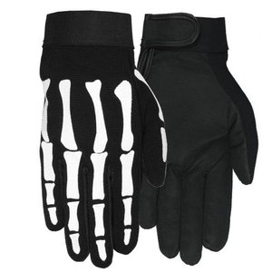 【Hot Leathers】メカニックグローブ Skeleton motobluez-store
