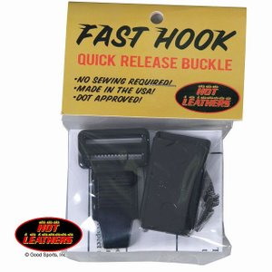 【HOT LEATHERS】「FAST HOOK」クイックリリースバックル|motobluez-store