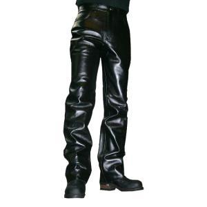 【HEAVY】ハイグレードステアハイドレザーパンツ501タイプ motobluez-store