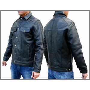 カウレザーシャツジャケット(パンチングタイプ)|motobluez-store
