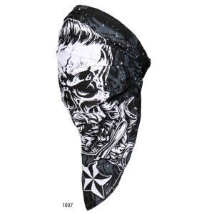 【HotLeathers/ホットレザーズ】4 in 1 Skull Wrap フェイスマスク motobluez-store