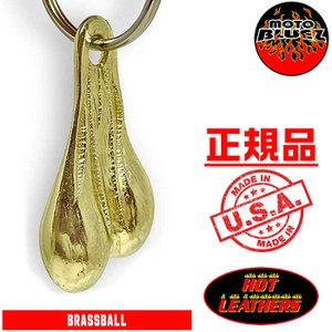 【HotLeathers/ホットレザーズ】 きんたまキーホルダー (CHROME BALLS Key Chain) motobluez-store
