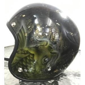 装飾用ジェットヘルメット TFS-2コイ|motobluez-store
