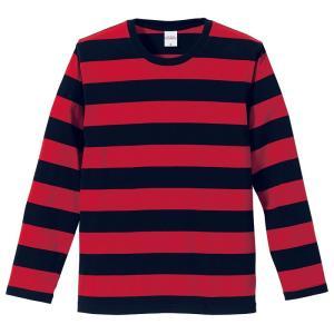 【大人気!!】ボーダーロングTシャツ(RED) motobluez-store