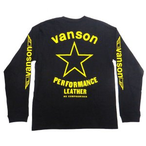長袖 Tシャツ イエロースター VANSON YellowSTAR|motobluez-store