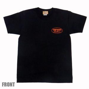 VANSON バンソン 半袖 Tシャツ ORANGE STAR|motobluez-store|03