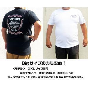 VANSON バンソン 半袖 Tシャツ ORANGE STAR|motobluez-store|06