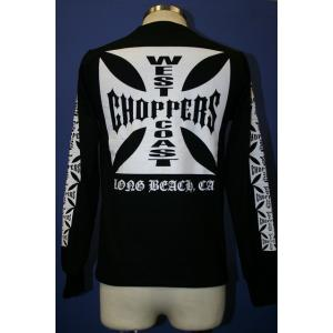 【WEST COAST CHOPPERS】 ホワイトロゴ ロングTシャツ motobluez-store