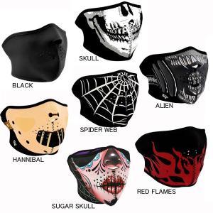 【ZANheadgear】 ネオプレン ハーフフェイスマスク|motobluez-store