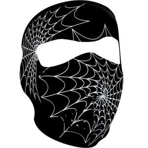 【ZANheadgear】 ネオプレン フルフェイスマスク≪SPIDER WEB≫|motobluez-store