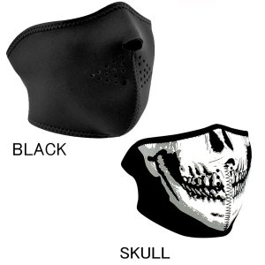 【ZANheadgear】 ネオプレン ハーフフェイスマスク ≪LARGE≫大顔サイズ|motobluez-store