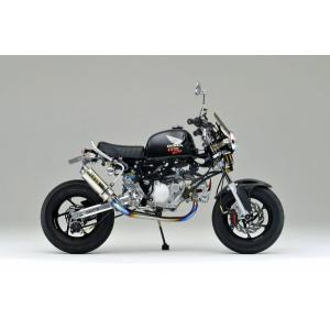 OVER オーヴァー GP-PERFORMANCE フルチタン レーシングマフラー MONKEY|motoism
