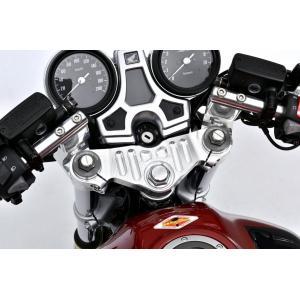 OVER オーヴァー スポーツライディング ハンドルキット シルバー CB1100RS(17-)|motoism