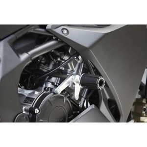 OVER オーヴァー レーシングスライダー シルバー CBR250RR motoism