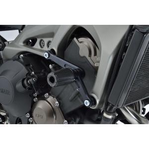 OVER オーヴァー エンジンスライダー ブラック MT-09・MT-09 TRACER・XSR900 motoism