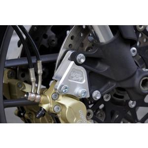 OVER オーヴァー フロントキャリパーサポート ブレンボ4P/40mm用 Tiger800 11-|motoism