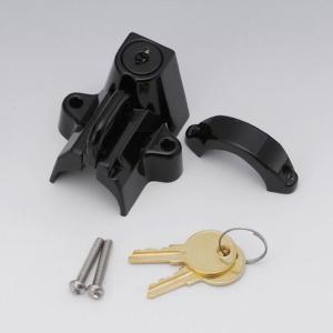 キジマ (KIJIMA) 303-1514 ヘルメットロック 22.2〜32mmパイプ対応 ブラック 汎用 ヘルメットホルダー 【汎用】 motokichi