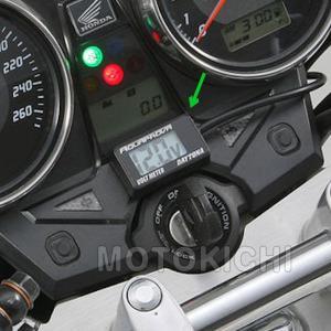 デイトナ DAYTONA 92386 防水コンパクトボルトメーター DC12V (動作範囲:7.5-18V)  デジタル電圧計|motokichi