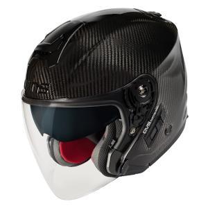 【1月以降の出荷】WINS A-FORCE RS JET インナーシールド付き カーボン ジェットヘルメット|motokichi