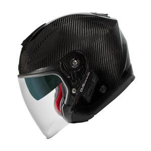 【1月以降の出荷】WINS A-FORCE RS JET インナーシールド付き カーボン ジェットヘルメット|motokichi|02