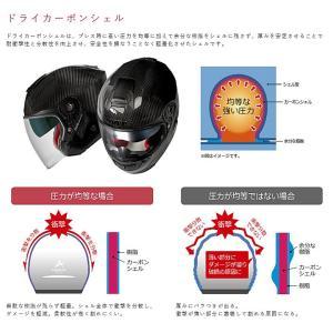 【1月以降の出荷】WINS A-FORCE RS JET インナーシールド付き カーボン ジェットヘルメット|motokichi|05