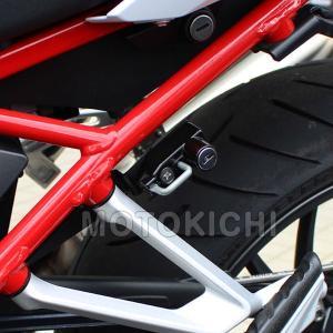 キジマ (KIJIMA)  BM-05007 ヘルメットロック BMW R1200R/RS 2015年〜 ヘルメットホルダー 【BMW】 motokichi