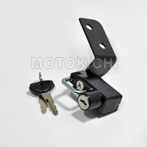 キジマ KIJIMA KTM-05000 ヘルメットロック ブラック KTM DUKE125(12Y-)/200(13Y-) ヘルメットホルダー【KTM】 motokichi