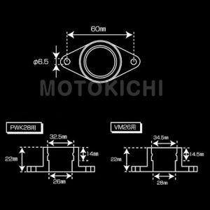 シフトアップ SHIFT UP 201085-GP 補修用ラバーインシュレーター ミクニVM26用 モンキー|motokichi