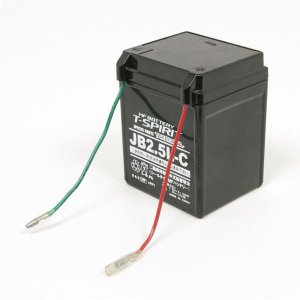 SP武川 タケガワ 05-11-0013 12Vシールタイプ MFバッテリー JB2.5L-C 旧品番05-11-0001 YAMAHA メイト KSR50/80 NSR50/80|motokichi