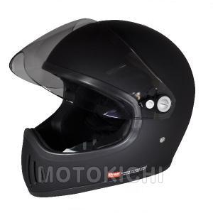 Silex シレックス 雷神 'RAIJIN' フルフェイスヘルメット マッドシャインブラック M/Lサイズ ZS728-MBM ZS728-MBL