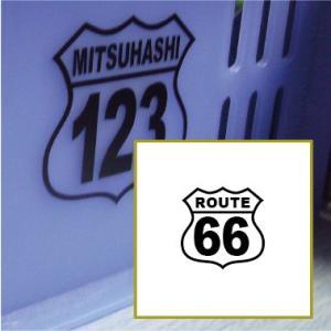 切り文字ステッカー  色&英数字・変更OK    TYPE - ROUTE 66  SS/4cm  カッティングシート・シール・デカール|motologo
