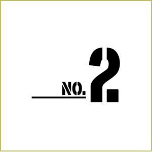 切り文字ステッカー  0〜9 色&数字変更OK    TYPE - NO.2  S/5cm  カッティングシート・シール・デカール|motologo