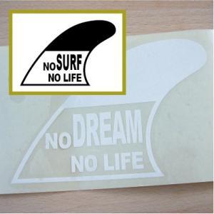 切り文字ステッカー  色&英数字・変更OK    SURF - FIN B   カッティングシート・シール・デカール|motologo