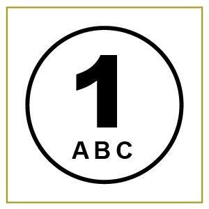 切り文字ステッカー   色&英数字・変更OK   CIRCLE NUMBER  8cm  カッティングシート・シール・デカール|motologo
