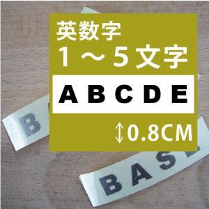 切り文字ステッカー   1〜5文字 色&英数字・変更OK   TEXT- B  SS/0.8cm  カッティングシート・シール・デカール|motologo