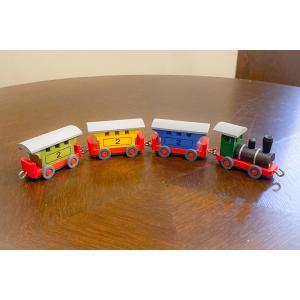 ドイツ木工芸品 客車列車 機関車 トレイン 鉄道|motomachi-takenaka