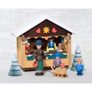 ドイツ木工芸品 クリスマスマーケット お菓子屋|motomachi-takenaka