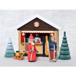 ドイツ木工芸品 クリスマスマーケット スキー屋|motomachi-takenaka