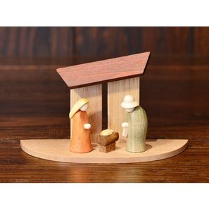ドイツ木工芸品 キリストのご降誕 ご生誕|motomachi-takenaka