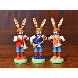 ドイツ木工芸品 ウサギの楽団 ウサギのバンド motomachi-takenaka