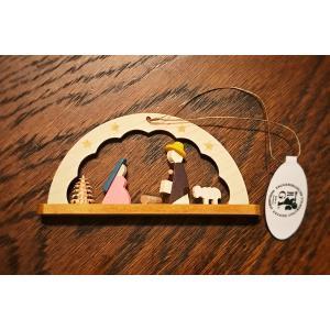 ドイツ木工芸品オーナメント・アーチ キリストのご降誕 ご生誕 ツリー|motomachi-takenaka