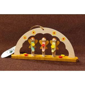 ドイツ木工芸品オーナメント・アーチ いたずら好きな妖精|motomachi-takenaka