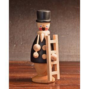 ドイツ木工芸品 煙出し人形 小さい煙突掃除人|motomachi-takenaka