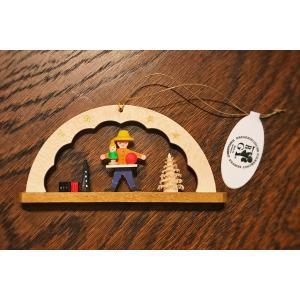 ドイツ木工芸品オーナメント・アーチ 玩具売り おもちゃ ツリー|motomachi-takenaka