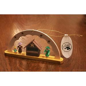 ドイツ木工芸品オーナメント・アーチ クリスマスマーケット|motomachi-takenaka