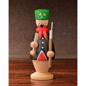 ドイツ木工芸品 煙出し人形 小さい鉱夫|motomachi-takenaka