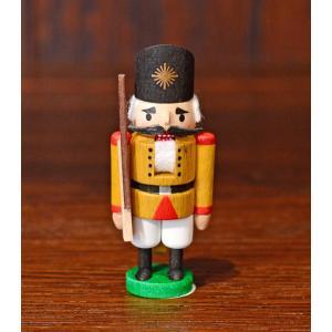 ドイツ木工芸品 ミニナッツクラッカー 小さなくるみ割り人形 兵隊 兵士 motomachi-takenaka