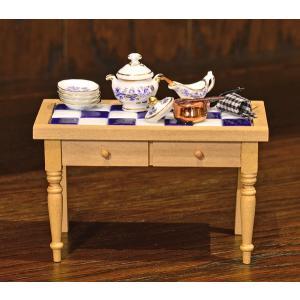 ドイツ ミニチュア・キッチン テーブル motomachi-takenaka