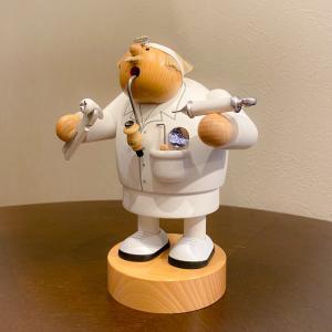 ドイツ木工芸品 煙出し人形 歯科医|motomachi-takenaka