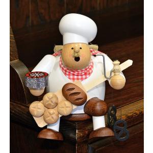 ドイツ木工芸品 煙出し人形 パン屋 ベーカリー パン職人|motomachi-takenaka